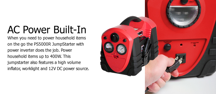 PS5000R Automotive Jumpstarter